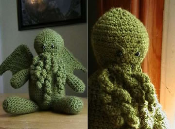 Dread Crocheted Cthulhu!