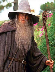 Ian McKellen as Gandalf the Grey