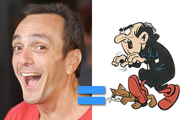 Hank Azaria is Gargamel!