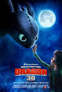 How to Train Your Dragon - 3D