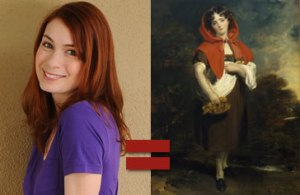 Felicia Day as Little Red Riding Hood?