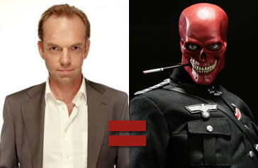 Hugo Weaving as Red Skull