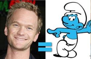 Neil Patrick Smurf?