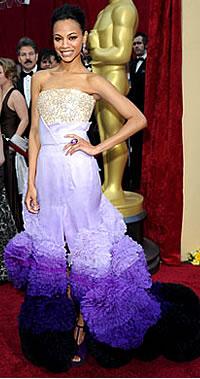 Zoe Saldana - 2010 Oscars