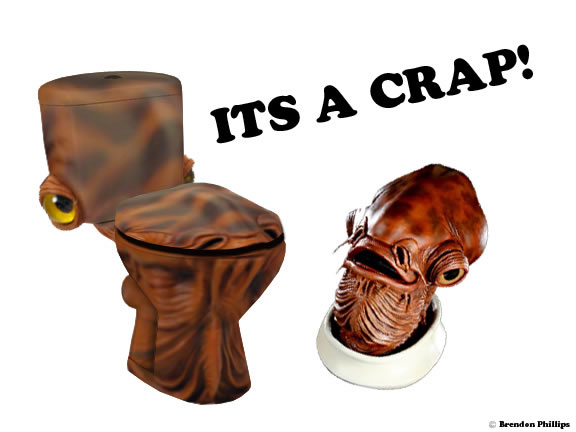 The Admiral Ackbar Toilet