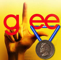 Glee wins the Peabody!
