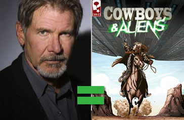 Harrison Ford - Cowboys & Aliens