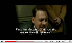 Hitler finds out that Marvel has been bought out by Disney