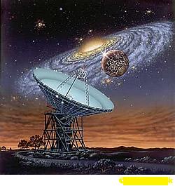 Seeking Intelligent Life in the Milky Way - © Lynette Cook