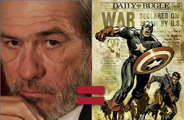 Tommy Lee Jones to join Captain America?
