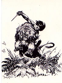 Tarzan - Frank Frazetta