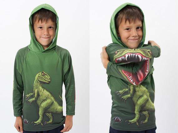 Mouth Man Raptor Hoodie