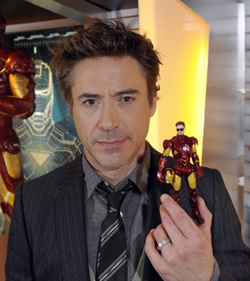 Robert Downey Jr. is the bestest.