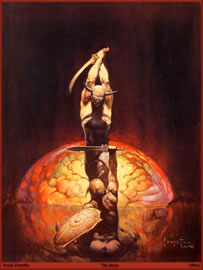 The Brain - Frank Frazetta