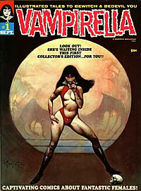 Vampirella - Frank Frazetta