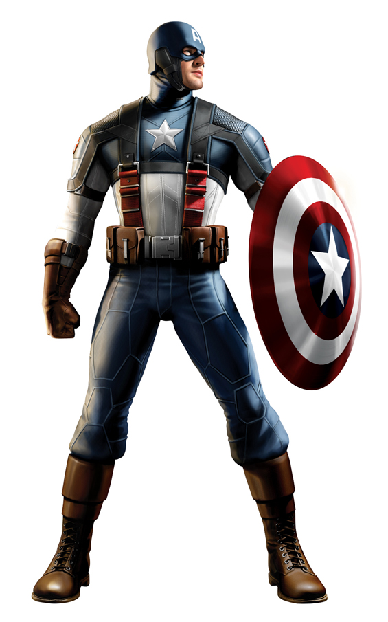 Captain America - Treatment 3