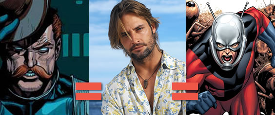 Could Josh Holloway play either Hank Pym or Dum Dum Dugan?