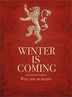 Winter is coming....