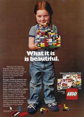 Lego ad, circa 1981